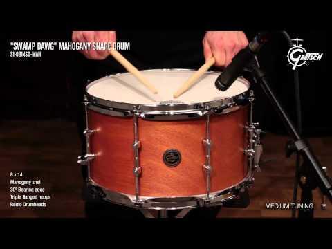 Gretsch Mahogany Snare Drum