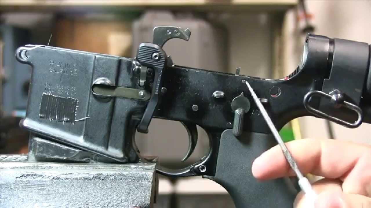 How Does A Machine Gun Work  Full Auto Ar15 Explained M4  M16