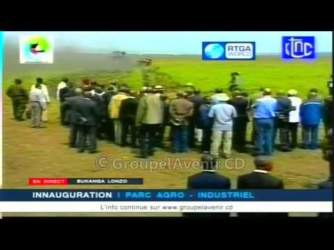 Joseph Kabila inaugure le Parc Agro-Industriel de Bukanga Lonzo