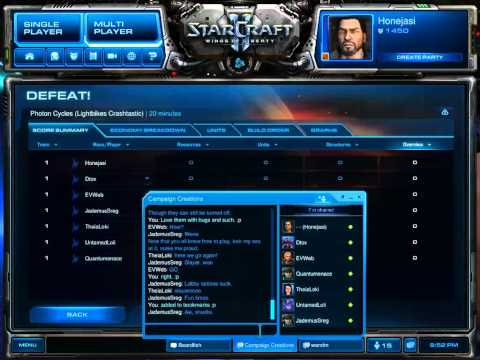 SC2 FFS Event 40 Game 2 Part 2/2 (Photon Cycles)