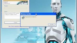 Como Actualizar ESET Nod32 Y Smart Security Version 5 Sin