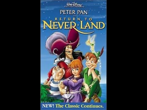 Opening To Peter Pan:Return To Neverland 2002 VHS
