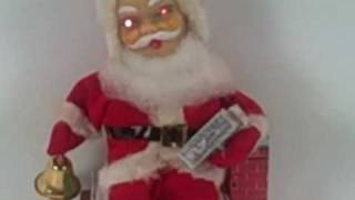Battery Operated Demon Santa