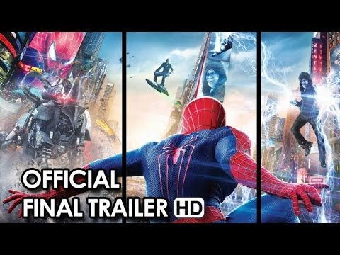 The Amazing Spider-Man 2 Official Final Trailer (2014) HD