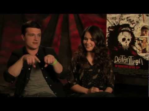 Josh Hutcherson & Shanley Caswell Interview - 'Detention' Exclusive!