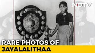 See Rare Photos Of A Young Jayalalithaa, Including As Conv..