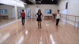 Blurred Lines Line Dance (Dance & Teach)