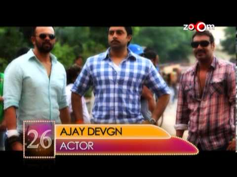Ajay Devgn  Most Desirable Men at No.26