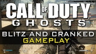 CoD Ghosts BLITZ & CRANKED Gameplay w/ SC-2010