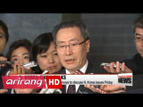 S. Korea, China six-party talks envoys to hold talks on N. Korea in Beijing