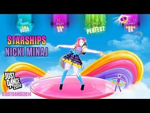 Just Dance 2014 - Starships (FULL GAMEPLAY)