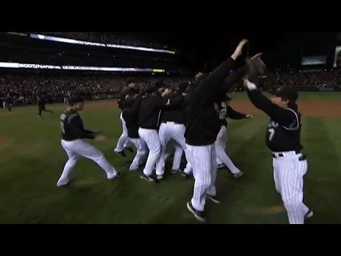 2007 NLCS Gm4: Rockies win the NLCS vs. the D-backs