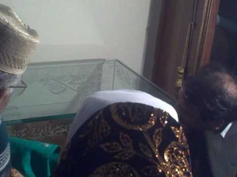 Ziyarat of Holy Jubba Mubarak of Hazrat Muhammad (S.A.W) on 12_Rabbi ul awal ,2009