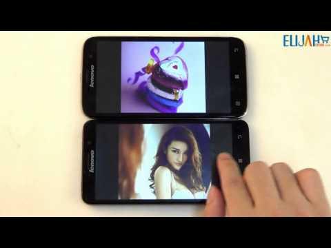2014 New Lenovo A850+ Octa Core VS Lenovo A850 Quad Core Smartphone Android 4.2