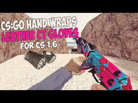 Pack de Armas de CS:GO l Hand Wraps Leather CT Gloves l 2018