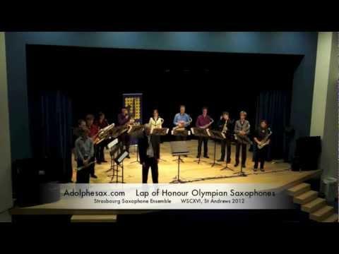 WSCXVI Lap of Honour Olympian Saxophones