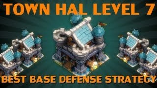 Clash Of Lords Best Base Defense For Town Hall Level 7