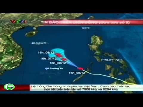 Tin bão   Cơn bão số 9 trên biển Đông