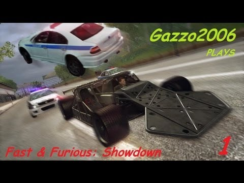 Fast & Furious SHOWDOWN Video Game Xbox 360 Gameplay Episode 1