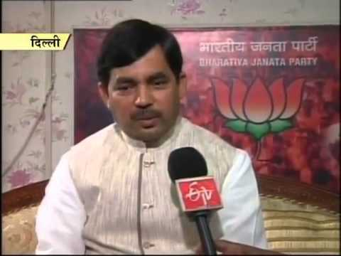 Shahnawaz Hussain criticises Nitish Kumar, says his resignation benefits Lalu, Rabri