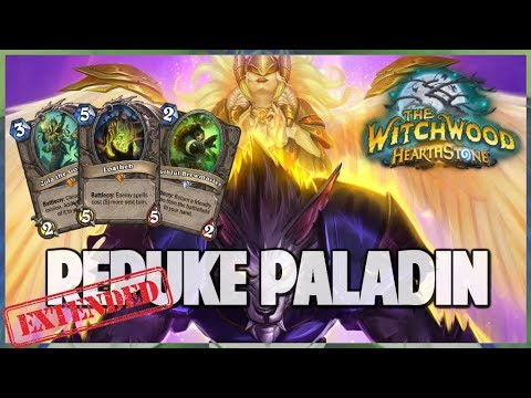 Repuke Paladin | Extended Gameplay | Hearthstone | The Witchwood