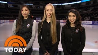 Meet The Ladies Of The US Olympic Figure Skating Team Heading To South Korea | TODAY