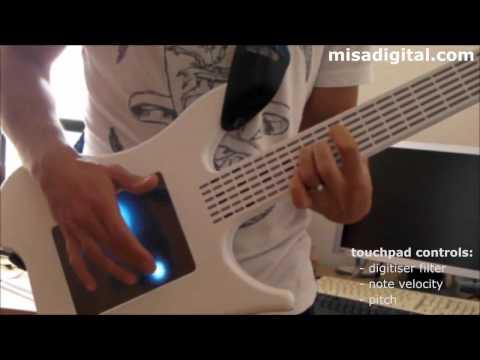 Misa Digital Guitar with Touchscreen - новый формат виртуальной музыки