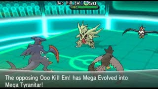 Pokemon X and Y Wifi Battle vs. giancarloparimango11  *Doubles*