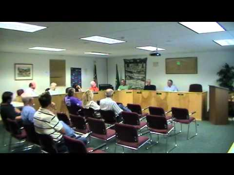 Gold Bar City Council Meeting Sept 3, 2013 Part II
