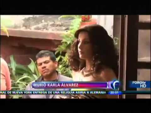 FALLECE KARLA ALVAREZ ACTRIZ MÉXICANA 15 NOVIEMBRE 2013 TODOS LOS DETALLES