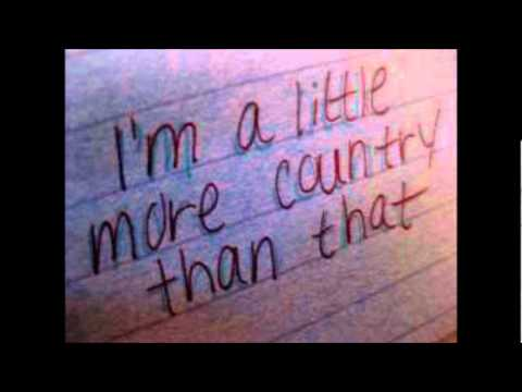 Easton Corbin – A Little More Country Than That Lyrics ...
