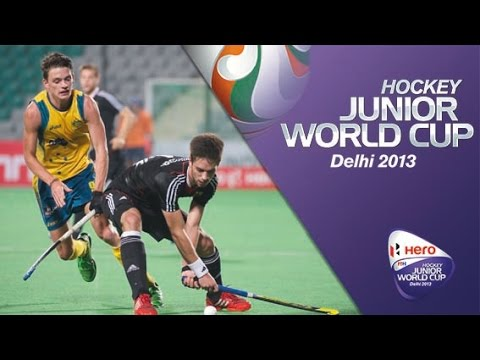 Australia vs Germany  - Men's Hero Hockey Junior World Cup India QF 4 [12/12/2013]
