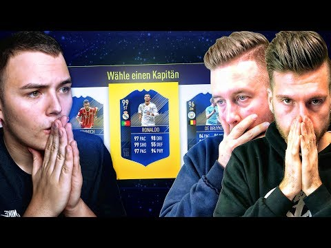 FIFA 18: MEIN TEAM OF THE YEAR FUT DRAFT BATTLE VS TISI SCHUBECH ⚡️