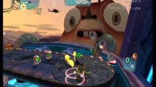 Monsters Vs. Aliens Movie Game Walkthrough Part 10:2 (Wii