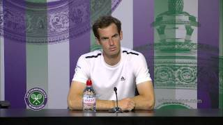 Andy Murray: 'today was a bad day' - Wimbledon 2014
