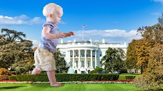 Terror Toddler Invades White House Lawn