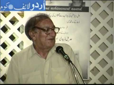 An evening with Urdu poet Ahmad Faraz [Sham E Faraz: Urdu Mushaira]