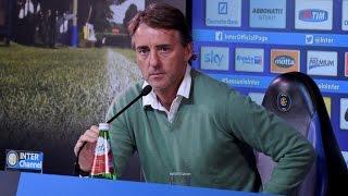 Live! conferenza stampa Roberto Mancini prima di Hellas Verona-Inter 10.4.2015 13:30 CEST