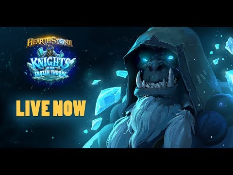 HEARTHSTONE KNIGHTS OF THE FROZEN THRONE | LIVESTREAM | TRYING MY NEW DECKS