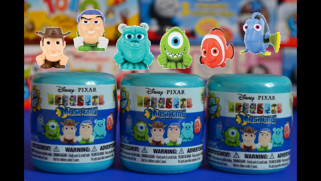 Monsters University Buzzlightyear Surprise Toys Unwrapping Youtube