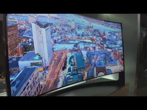Samsung wklęsły telewizor Ultra HD o przekątnej 105 cali CES 2014