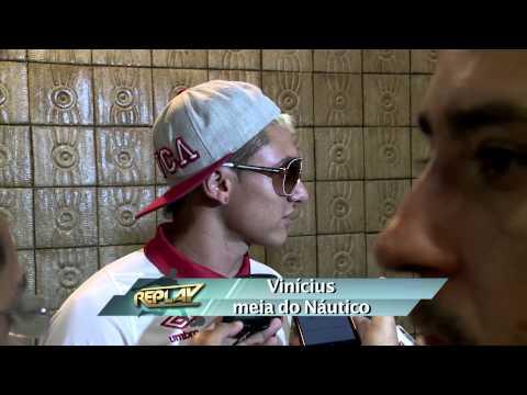 Replay - Náutico comemora vitória pensando no jogo contra Ceará 11 09 14 TV Jornal/ SBT