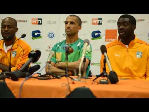 Conférence de Presse de M. Sabri Lamouchi avant le Match Contre le Japon