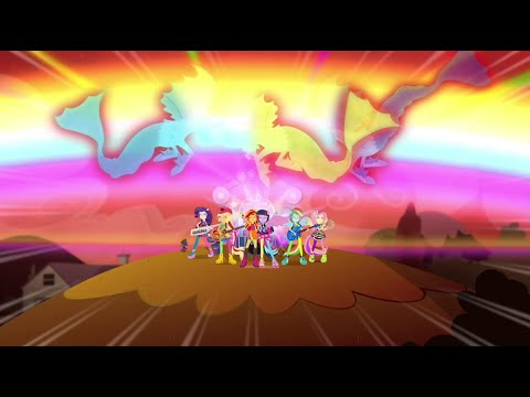 [Brazilian Portuguese] Equestria Girls Rainbow Rocks | Welcome To The Show [HD]