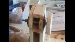 Homemade Lathe (router) Copier/duplicator Part 1