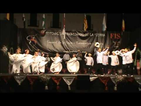 Agrupacion Panama Folklore en España 2013 Bailes Cumbia Cerrada y Espuela