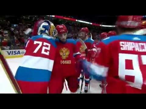 Матч просто Бомба.Россия-Финляндия 3-0.Кубок мира по хоккею 2016
