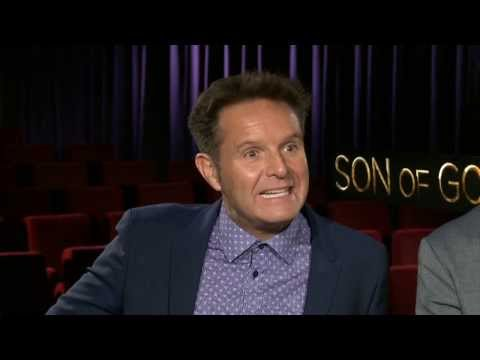 Son of God: Mark Burnett, Roma Downey, & Diogo Morgado Official Movie Interview