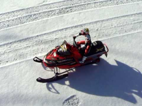 Nitro RC Skidoo MXZ Snowmobile