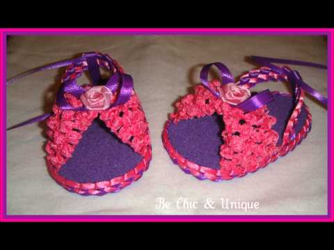 Sandalia de foami para bebés - Imagui